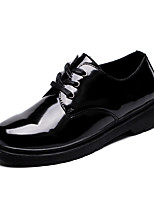 Men's Athletic Shoes Comfort Light Soles PU Spring Fall Athletic Running Comfort Light Soles   Flat HeelBlack/Red Black/White Green