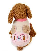 Hund Pullover Hundekleidung Lässig/Alltäglich Kartoon Blau Rosa
