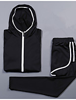 Women's Hoodie Running Pants Long Sleeves Cycling Camping & Hiking Fitness, Running & Yoga Moisture Wicking Quick Dry Casual Sports