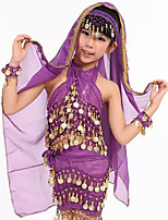Belly Dance Headpieces Girls' Performance Chiffon 1 Piece Headpiece