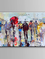 Hand-Painted  Abstract Oil Painting With Stretcher For Home Decoration Ready to Hang