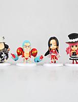 Figure Anime Azione Ispirato da One Piece Monkey D. Luffy PVC 7 CM Giocattoli di modello Bambola giocattolo
