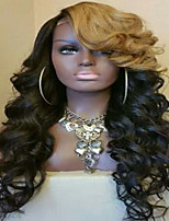 Elegant New Style For Black Women Body Wave Brazilian HUman Virgin Hair Glueless Lace Front Wigs With Baby Hair On Sale