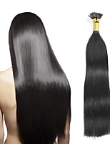 Peruvian Virgin Real Remy Human Hair I Tip Hair Extensions 0.5g/s 8A Grade I Tip Human Hair Extensions 100s/lot keratin Thick I Tip Hair