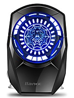 Llano C3  Laptop Cooling Fan  Ball Fan LED Turbine Fan Silent USB Power Supply Speed Silicone for  Laptop
