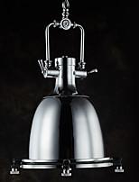 Métal industriel moderne unique en métal avec électrode en verre lampe suspension pour bar salle de café décorer loft style vintage drop