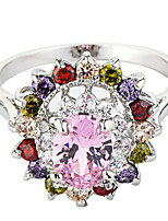 Ring Settings Ring Band Rings Women's Euramerican Luxury Elegant Assorted  Flower Style  Wedding  Birthday Party  Movie Jewelry