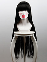Kakegurui Jabami Yumeko Long Black Anime Cosplay Wigs Wholesale Resale