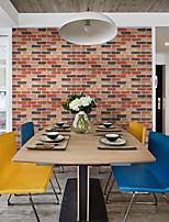 secesní motiv Cihlový Geometrické tvary Tapety pro domácnost moderní - současný design Wall Krycí , PVC a vinyl Materiál Samolepící tapeta