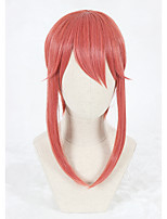 Kobayashi Maid Dragon Cosplay Wigs 22inch Medium Long Watermelon Red Wig Synthetic Anime Hair Wigs
