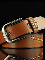 Men's clothing joker euramerican fashion belt Young students threading vintage belt Han edition recreational belts Personality cowboy belts
