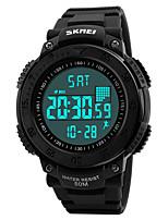 SKMEI Homens Relógio Esportivo Relógio Militar Relógio de Moda Relógio de Pulso Relogio digital Japanês QuartzoLED Calendário Impermeável