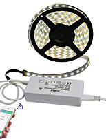 25W Set luci 2000 lm AC 100-240 V 5 m 300 leds Multicolore