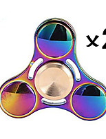 Trottole Spinner mano Trottola Giocattoli Giocattoli Spinner dell'anello EDCStress e ansia di soccorso Giocattolo di fuoco Giocattoli per