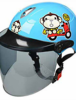 BLD 508 Motorcycle Helmet Child Helmet Child Electric Car Cute Cartoon Male And Female Children Half Helmet