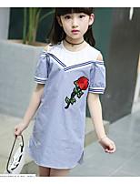 Vestido Chica de A Rayas