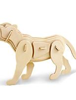 Jigsaw Puzzles DIY KIT 3D Puzzles Metal Puzzles Building Blocks DIY Toys Animal Natural Wood