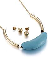 Women's Stud Earrings Pendant Necklaces Bridal Jewelry SetsUnique Design Cute Style Movie Jewelry Euramerican Fashion Vintage Bohemian