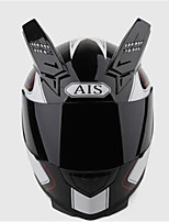 AIS 605 Motorcycle Helmetmale And Female Half Full Helmet Coat Style Cool Four Seasons Summer Helmet Motorcycle Racing Horn With Black Tea Lens
