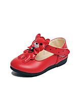 Девочки На плокой подошве Удобная обувь Детская праздничная обувь Полиуретан Весна Осень Повседневные Для праздника Для вечеринки / ужина