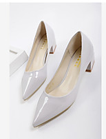 Damen Loafers & Slip-Ons Komfort PU Frühling Normal Komfort Schwarz Silber Grau Grün 2,5 - 4,5 cm