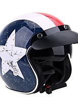 Mezzo casco Semplice Casco con Googles Caschi Moto