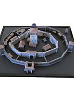 DIY KIT 3D Puzzles Paper Model Toys Famous buildings Architecture 3D DIY Not Specified Unisex Pieces