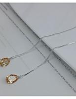 Hoop Earrings Basic Crystal Jewelry For Gift Outdoor Valentine 1 pair