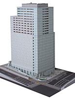 Puzzles Kit de Bricolage Puzzles 3D Blocs de Construction Jouets DIY  Architecture Papier cartonné
