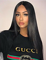 Pre Plucked 360 Lace Frontal Brazilian Human Hair 360 Lace Frontal Closure Silk Straight 360 Virgin Hair Lace Band Frontals with Baby Hair
