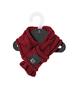 Dog Bandanas & Hats Dog Clothes Casual/Daily Solid Green Ruby
