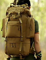 Men Sports & Leisure Bag Polyester All Seasons Casual Camping & Hiking Round Zipper Brown