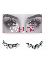 VVHUDA 1 Pair False Eyelashes Handmade Natural Light Makeup Eyelash Extensions Eye Fake Lashes Collection Cosmetic Tools Jessica