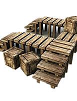 Пазлы Набор для творчества 3D пазлы Строительные блоки Игрушки своими руками Знаменитое здание Плотная бумага