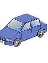 Набор для творчества 3D пазлы Бумажная модель Поезд Полицейская машинка Машина скорой помощи Игрушки Летательный аппарат Шлейф Автомобиль