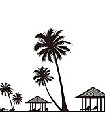 Wall Stickers Wall Decas Style Coconut Tree PVC Wall Stickers