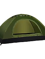 LINGNIU® 1 personne Tente Unique Tente de camping Tente automatique Etanche Garder au chaud Ultra léger (UL) pour CM Une pièce Tissu