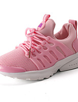 Kids Boys Girls' Sneakers First Walkers Light Soles Tulle Summer Fall Casual Outdoor First Walkers Light Soles Low Heel Blushing Pink Ruby Black