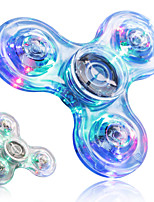 2Pcs Fidget Spinner Hand Spinner Toys Toys ABS EDCLED light Stress and Anxiety Relief Office Desk Toys for Killing Time Focus Toy Relieves