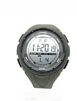 Homens Crianças Relógio Esportivo Relógio de Moda Chinês Digital Calendário Cronógrafo Cronômetro Noctilucente Mostrador Grande Plastic