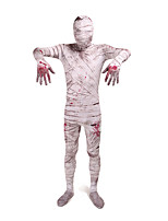 Zentai Suits Mummy Zombie Cosplay Costumes Funny Dress Leotard/Onesie Zentai Spandex Lycra Unisex Halloween Christmas Carnival
