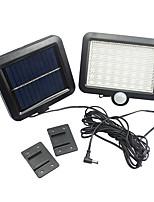 Motion Sensor Solar Powered Outdoor Garden Security Flood Light Spot Lamp