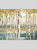 Botanical Style Canvas Material Oil Paintings with Stretched Frame Ready To Hang Size 60*90 CM