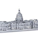 Puzzles Puzzles 3D Puzzles en Métal Blocs de Construction Jouets DIY  Rectangulaire Aluminium