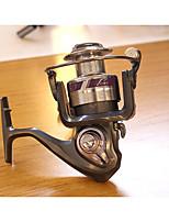 Reel Fishing Roulement Moulinet spinnerbaits 5.2:1 12 Roulements à billes EchangeablePêche en mer Pêche d'eau douce Pêche au leurre Pêche
