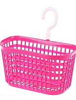 Suspension Multipurpose Plastic Storage Basket Bathroom Washing Hanging Basket