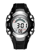 Kid's Sport Watch Digital Water Resistant / Water Proof Rubber Band Black