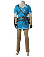 Ispirato da The Legend of Zelda Cosplay Video gioco Costumi Cosplay Abiti Cosplay Di tendenzaMaglietta Top Pantaloni Guanti Borsa Altri