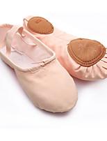 Mujer Ballet Tela Planos Entrenamiento Negro Rosa Caqui