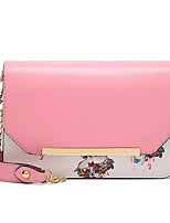 Women's Lovely Evening Bag Party/Casual Rectangle Appliques Zipper Blushing Pink/Red/Orange/Black
